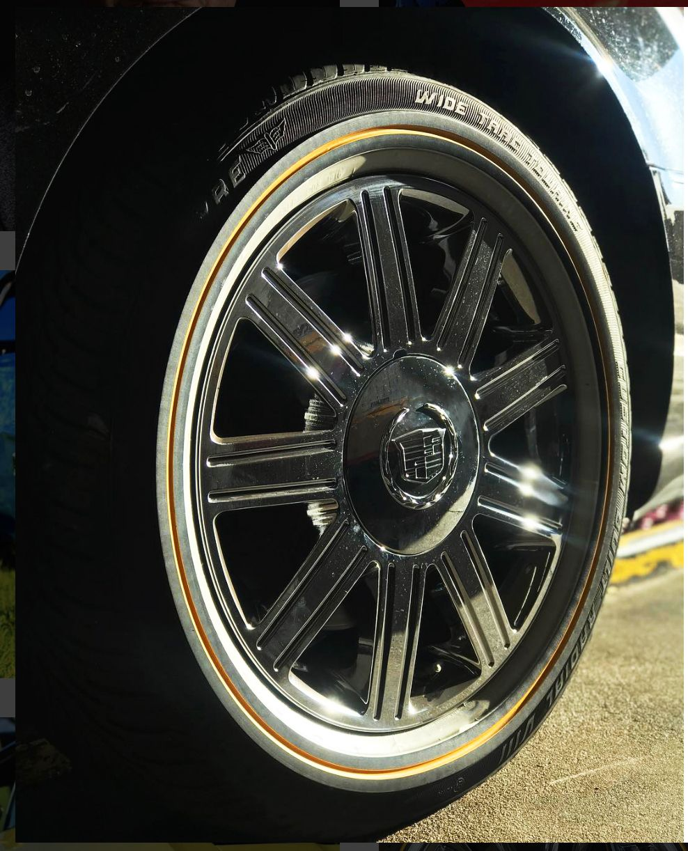 Vogue Wide Trac Touring Tire With Classics Style Rims Tire Car Ride