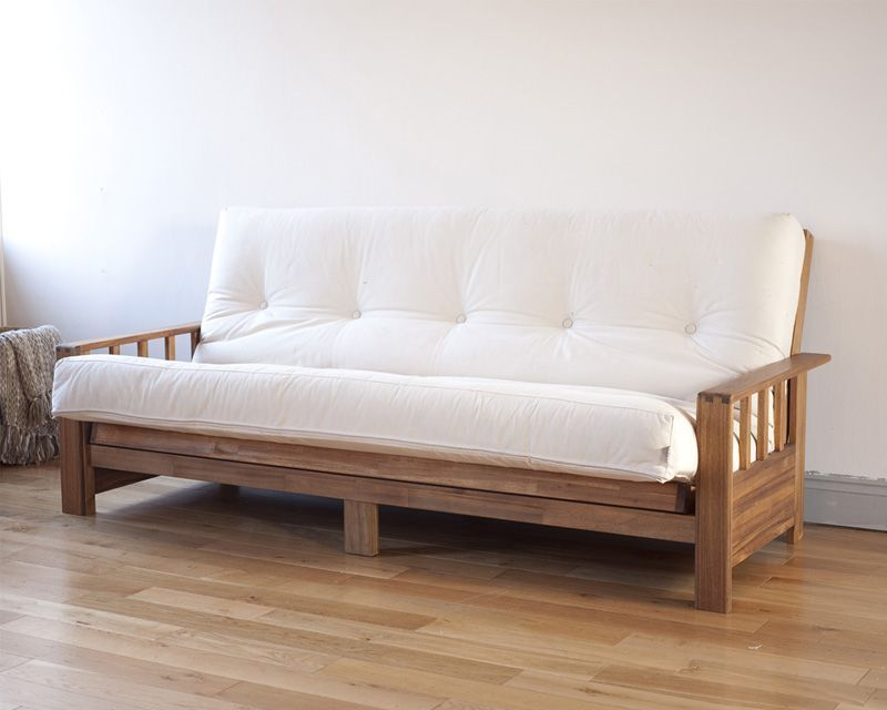 Futon Couch The Futon Is Pretty Basic And Looks Like A Covered Mattress Even When In The Sitting Position