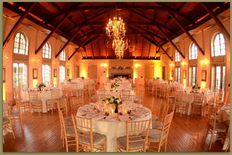 North Island Photography View Of Catering Hall Ready For Guests