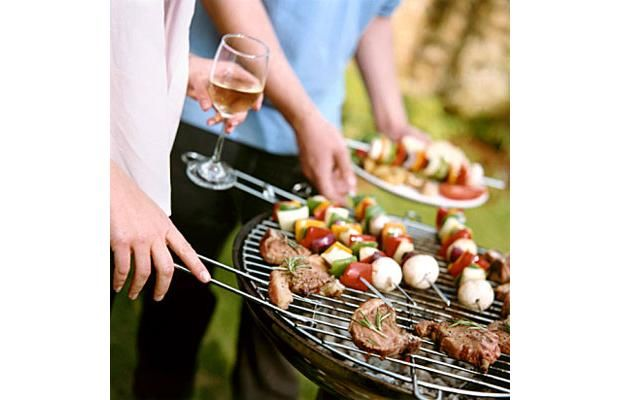 Barbeque, and wine: The perfect fit