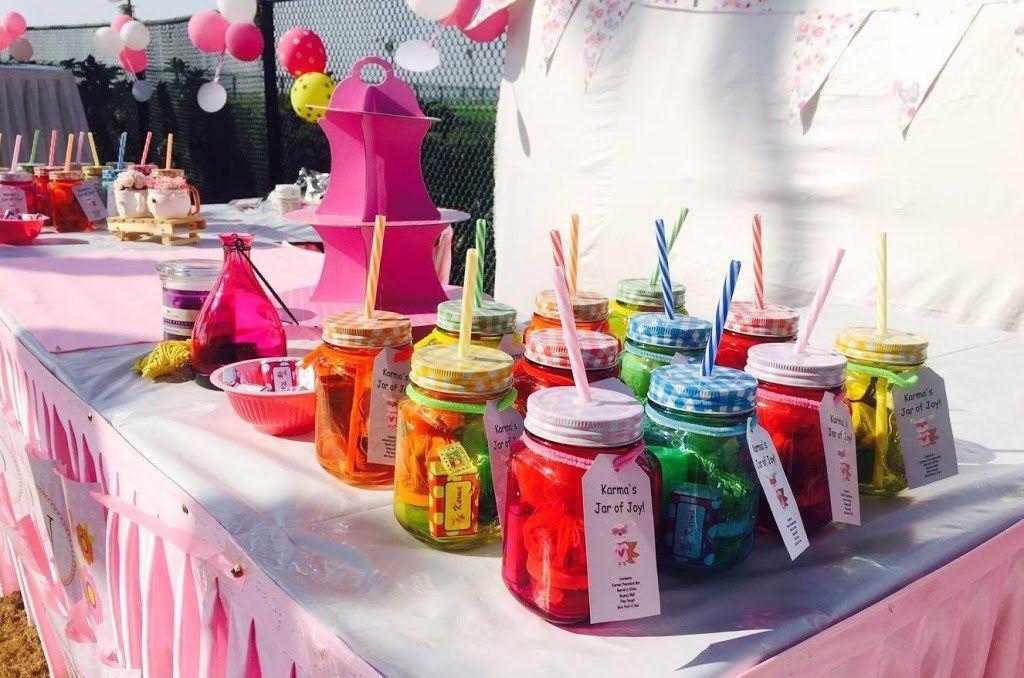 Mason Jar Birthday Return Gifts Party Favours Ideas Return