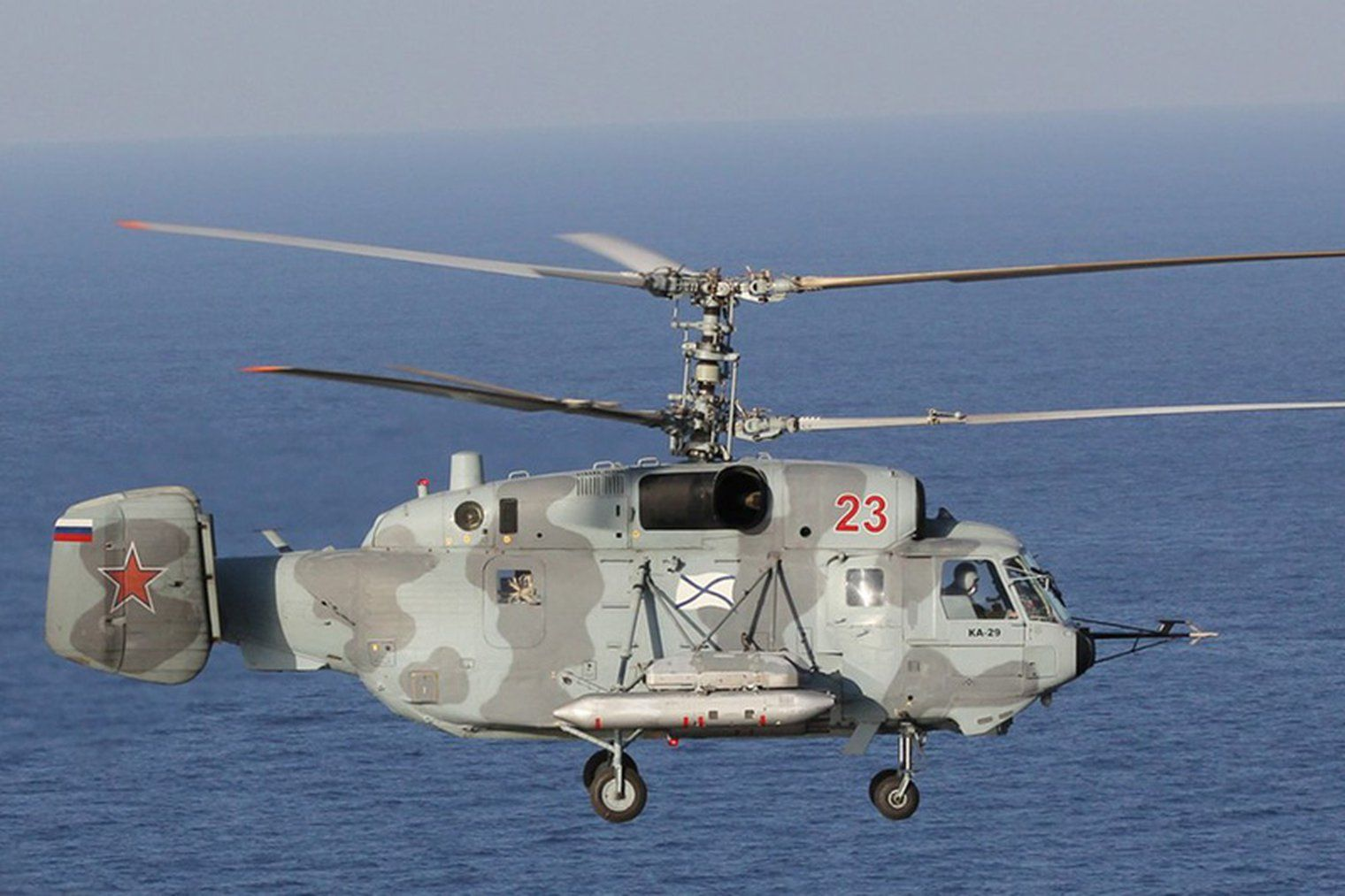 Russian Navy receives modernised Ka-29s - DH - Defence Helicopter