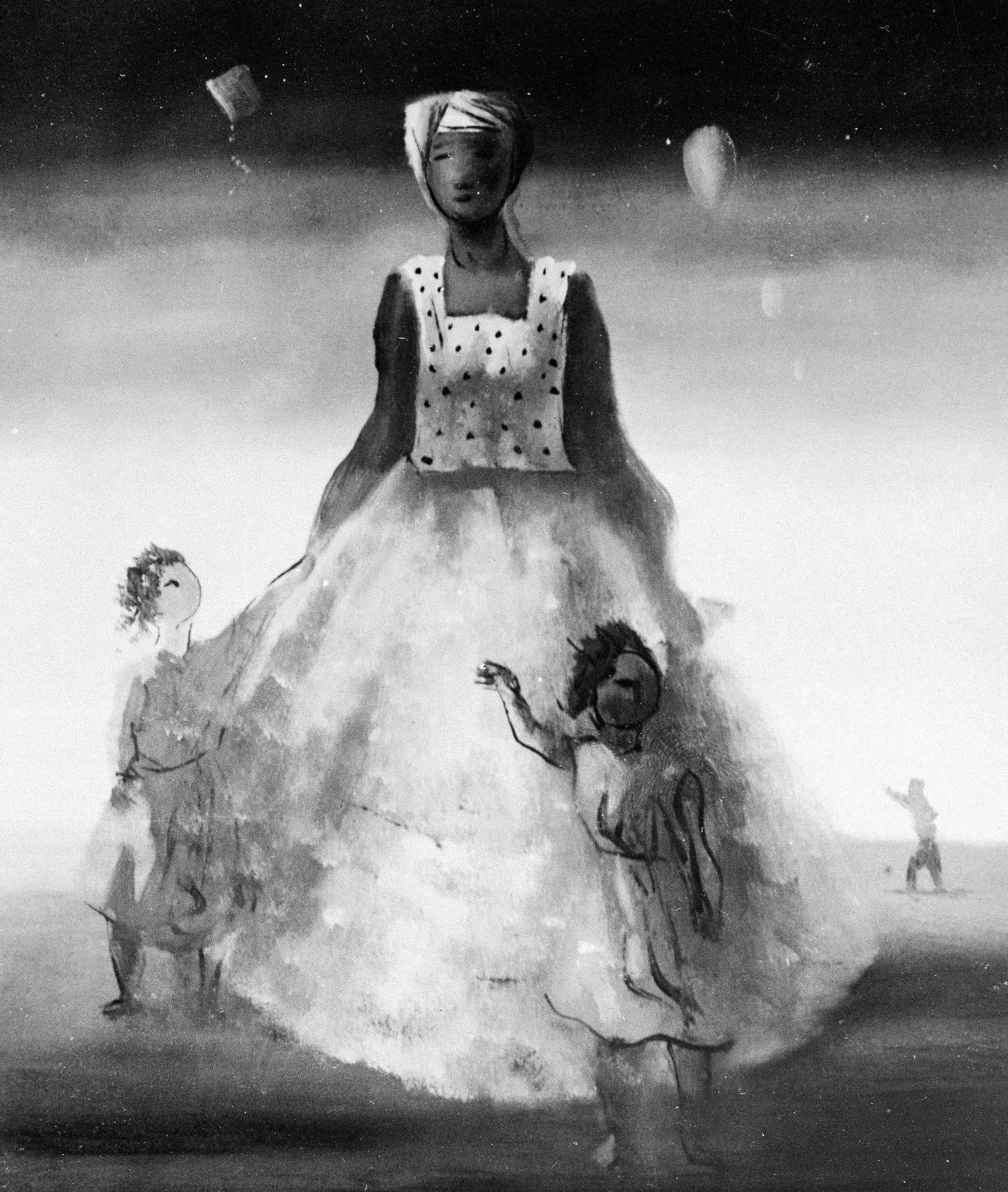 Baiana com crianças, 1940