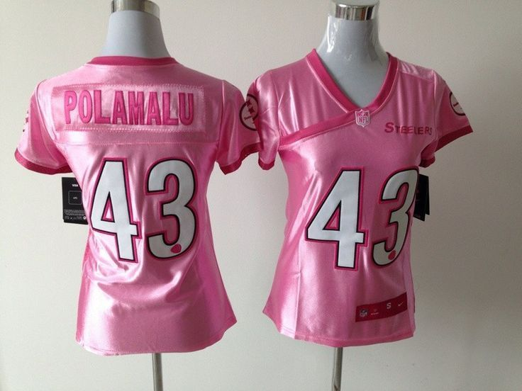 pink troy polamalu jersey