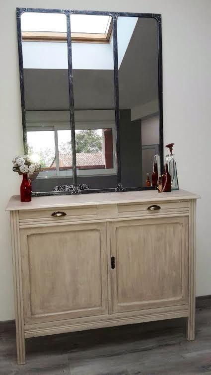 buffet bas relooke. Black Bedroom Furniture Sets. Home Design Ideas