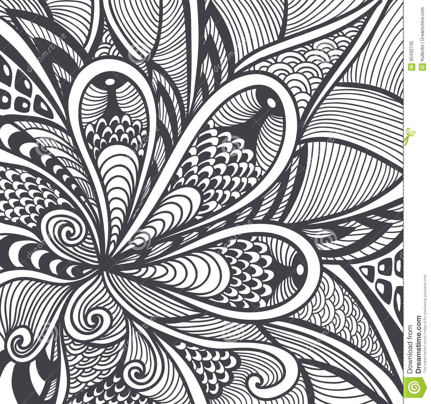 Thumbsdreamstime Z Abstract Pattern Zen Tangle