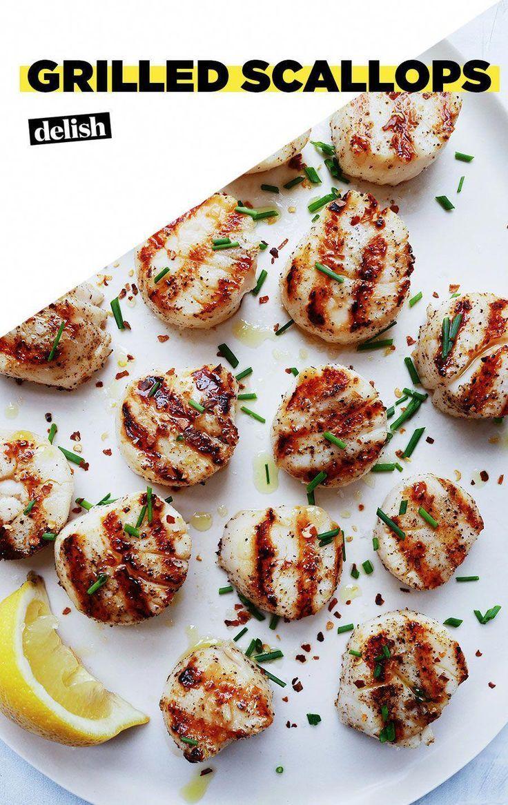 Perfect Grilled Scallops Perfect Grilled Scallops
