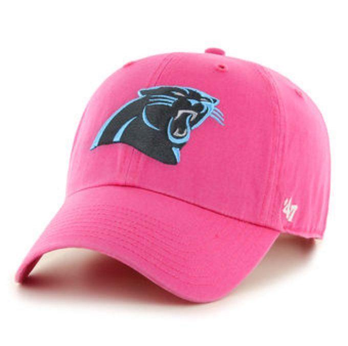 carolina panthers women s pink adjustable hat  NFL fan apparel head gear   Football from  37.95 52bd050393