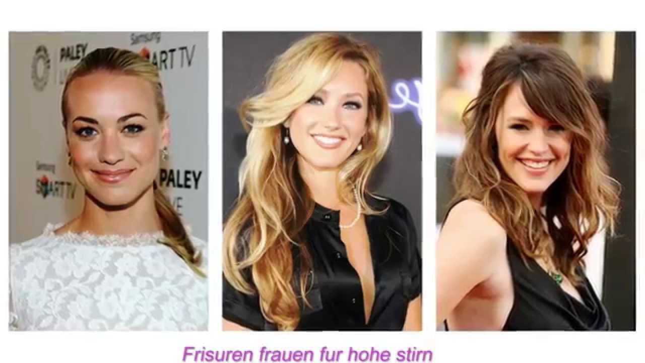 Frisuren Frauen Fur Hohe Stirn Long Hair Styles Womens