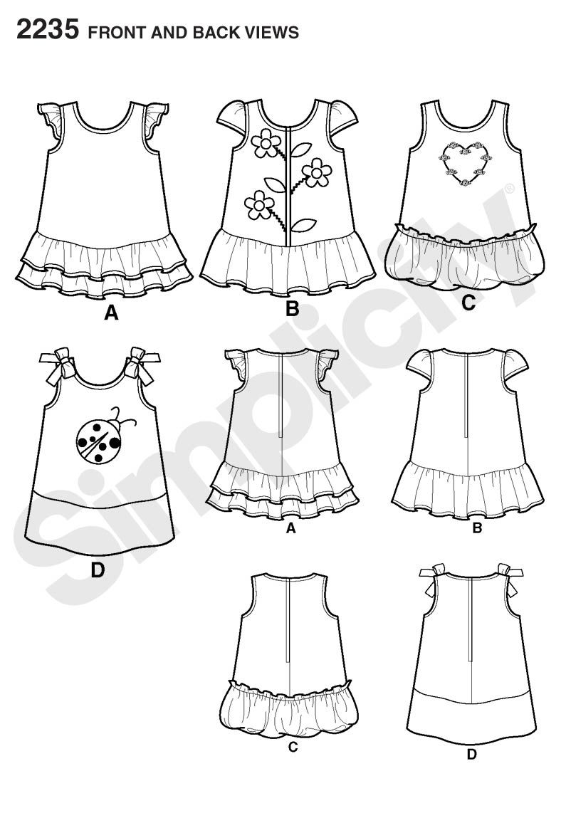 Sewing patterns | trazo plano | Pinterest | Costura, Ropa bebe y ...
