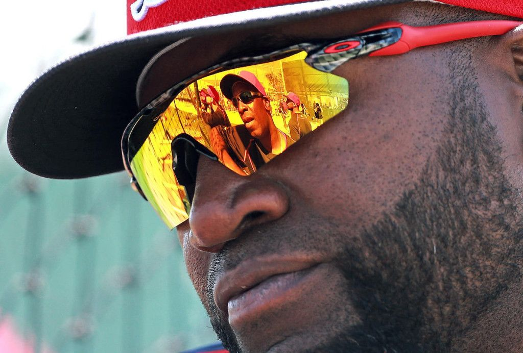 8b0846b5e6 David Ortiz is one of the biggest names in the game and he chooses to wear  the Oakley Radar EV Path.