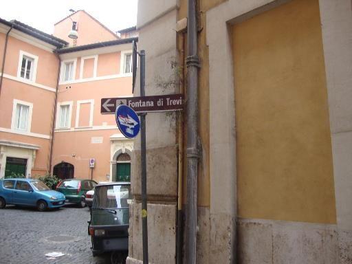 """Around the Restaurant """"Piccolo Arancio"""" Rome"""