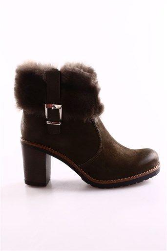 Greyder 52067 Bayan Bogazi Kurlu Trendy Bot 7k2tb52067 R0651 37 Ayakkabilar Bayan Ayakkabi Ve Giyim