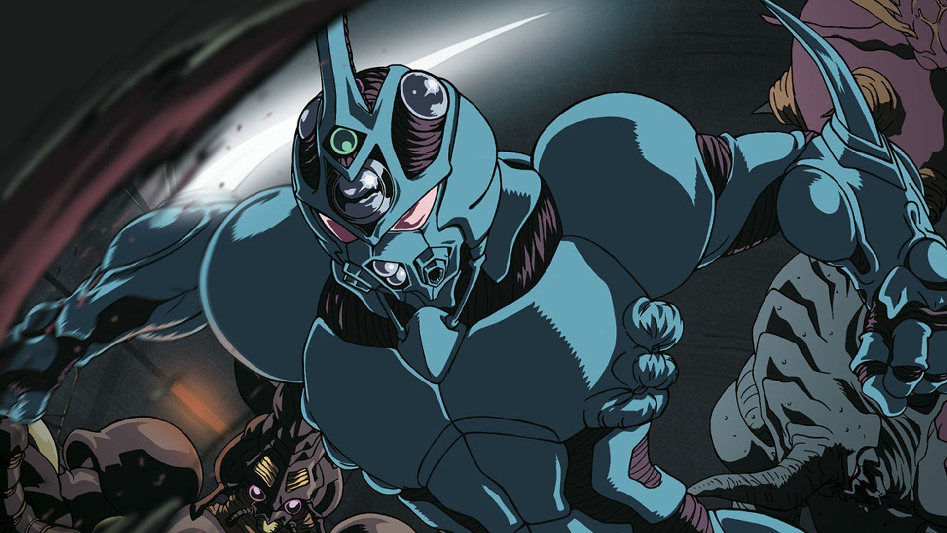the guyver Google Search Recycled art, Art, Anime style