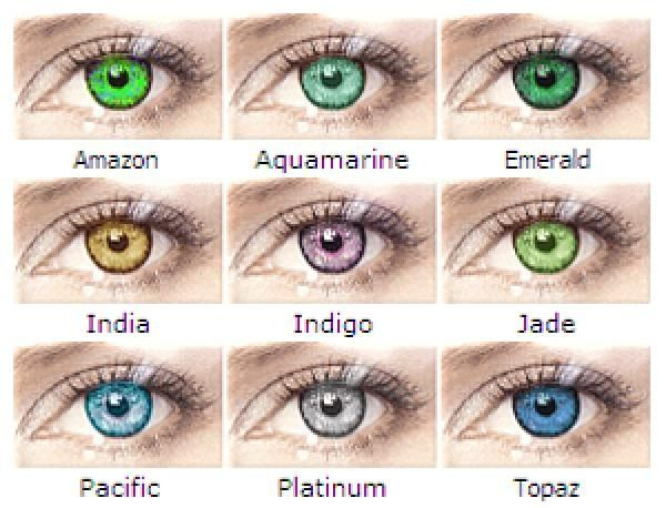 bausch lomb soflens natural colors httpwwwvisualopticaes - Color Contacts Amazon