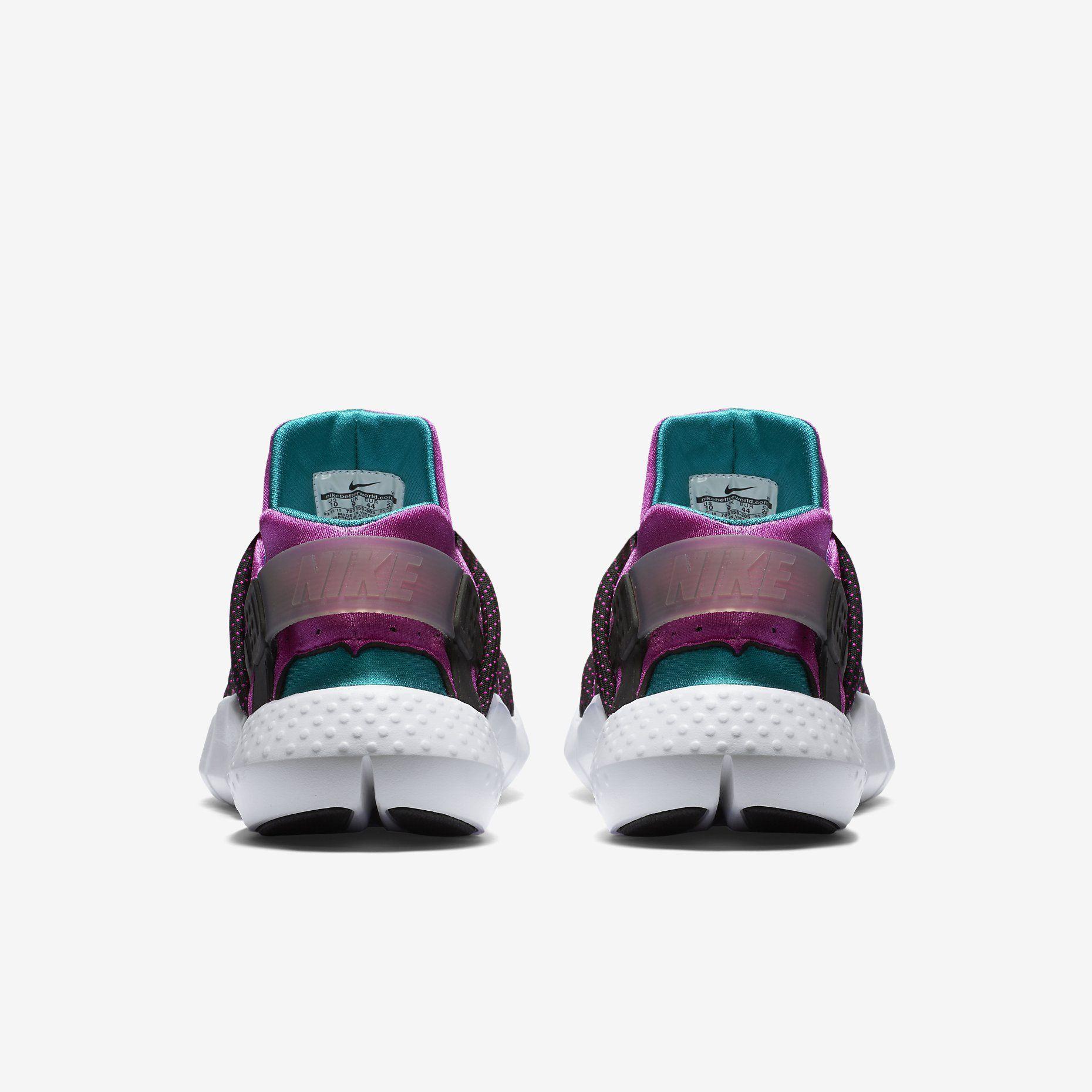 best website eaee3 a0227 Nike Huarache NM (Radiant EmeraldBlackWhiteFuchsia Flash)