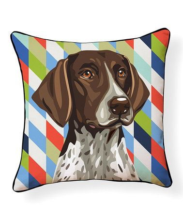 Pointer Pillow German Shorthaired Pointer Outdoor Throw Pillows German Shorthaired Pointer Dog