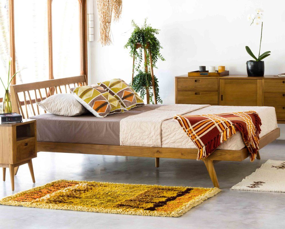 Fifties platform bed home in pinterest bedroom bed and