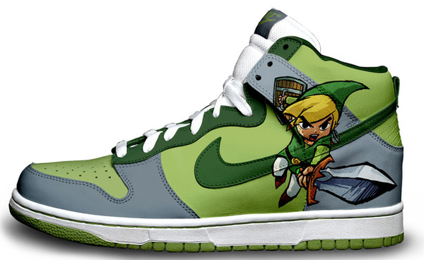 concierto seno Cercanamente  I have no idea where to get these, but I want them!!! Even better if it's  Ocarina of Time Link ;) | Nike tenis, Zapatillas nike, Anime ropa