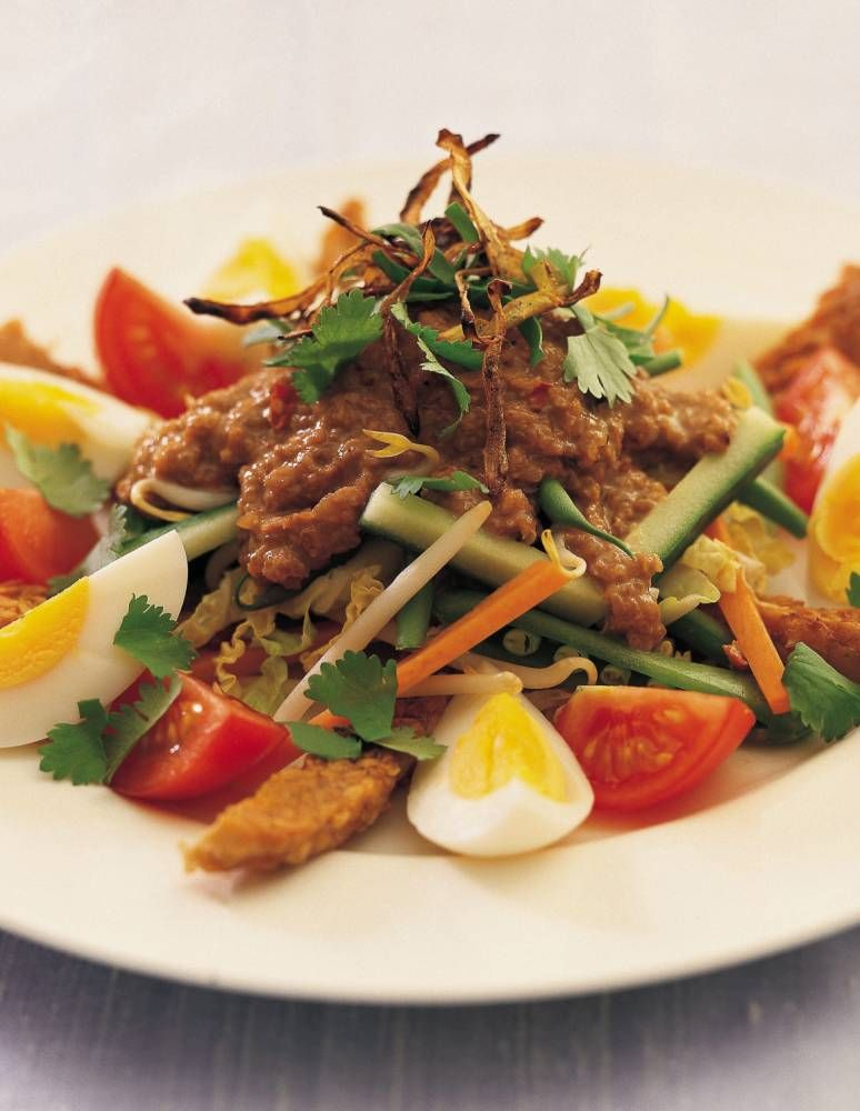 How to cook balinese gado gado gado gado balinese and food cucumber try chirs and carolyn caldicotts recipe from their book world food forumfinder Images