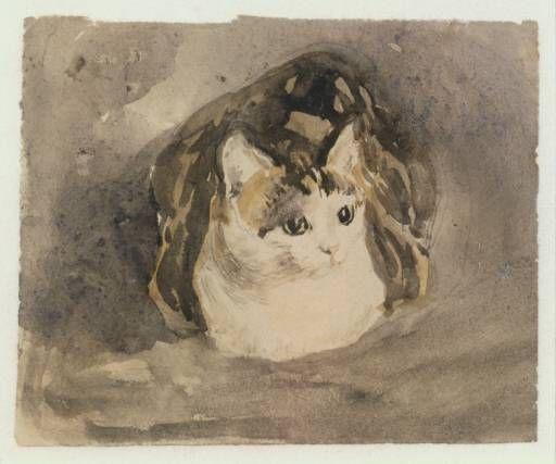 Gwen John - Cat