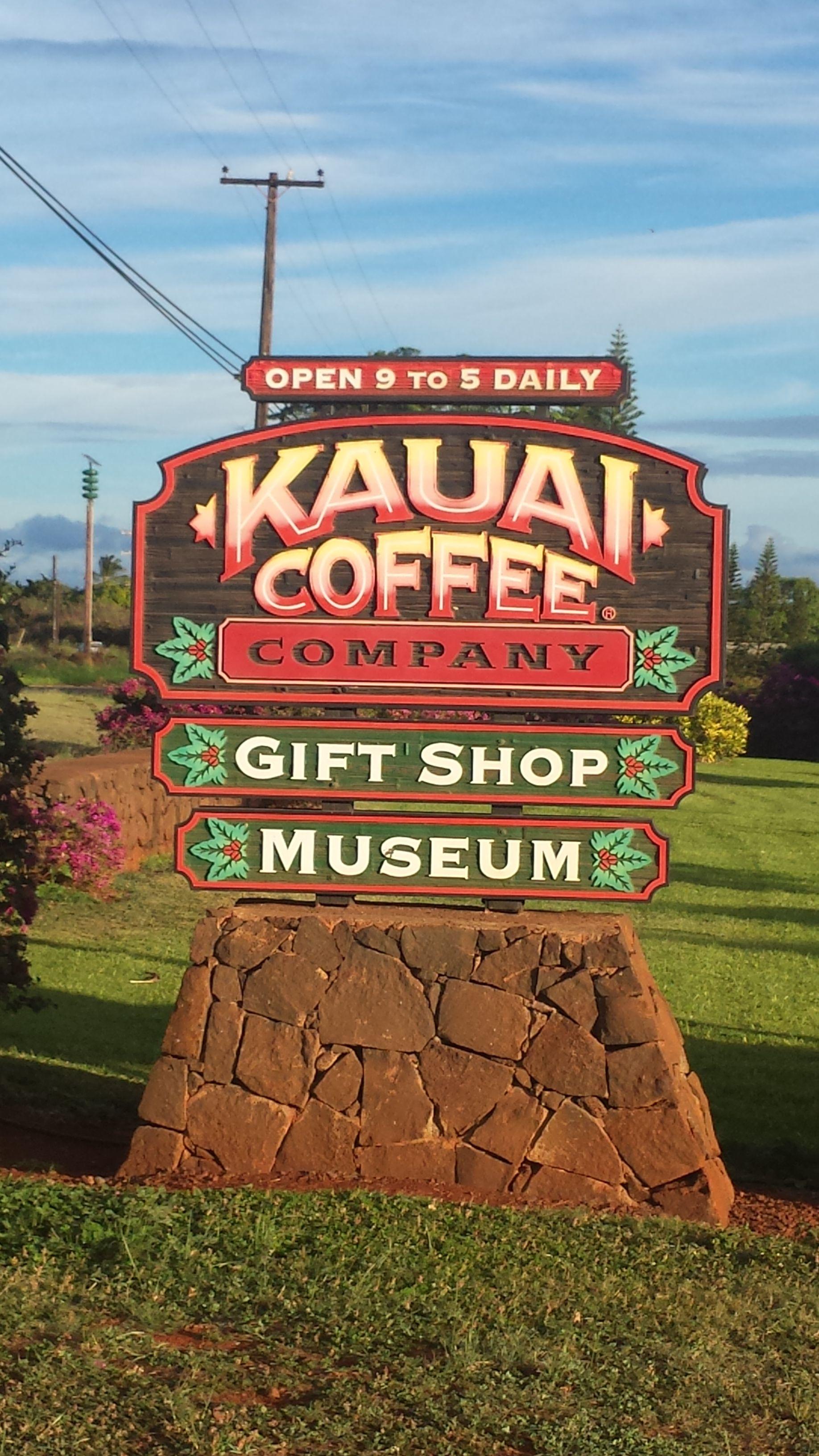 Kauai coffee company best coffee place on the island