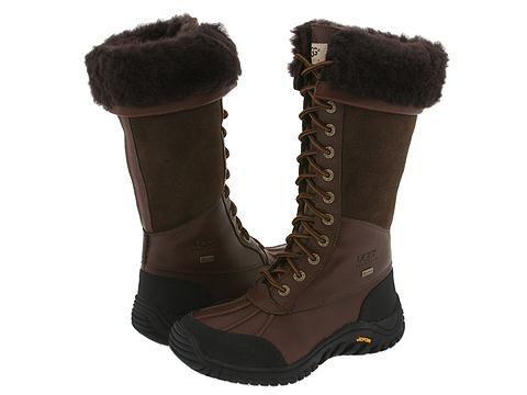 UGG Adirondack Tall Boots 5498 Chocolate $170.11