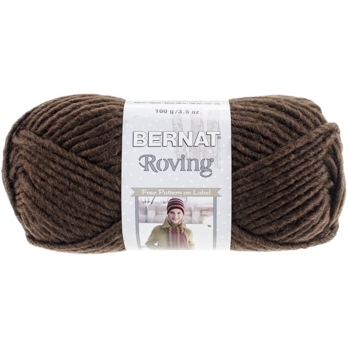 Roving Yarn-Chocolate