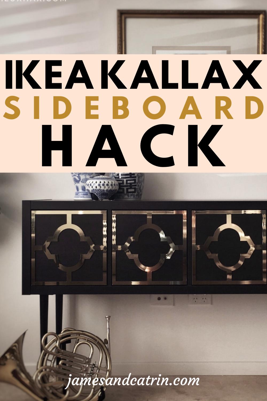 The Ikea Hack Behind This Stunning Kallax Sideboard Ikea
