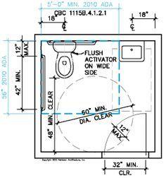 Ada Bathroom In Cad ada bathroom clearance. | plumbing | pinterest | ada bathroom