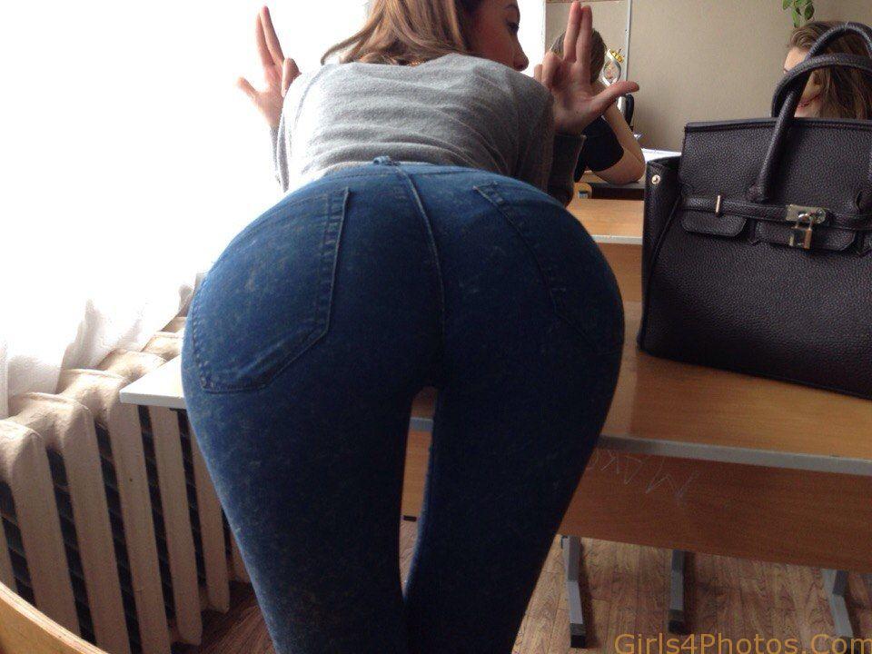 Ass like butt fetish jeans levi tight blowjober
