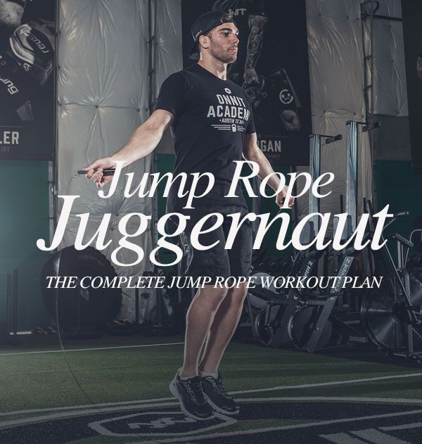 Become A Jump Rope Juggernaut With This Complete 4 Week Workout Plan 4 Week Workout Plan Weekly Workout Plans 4 Week Workout