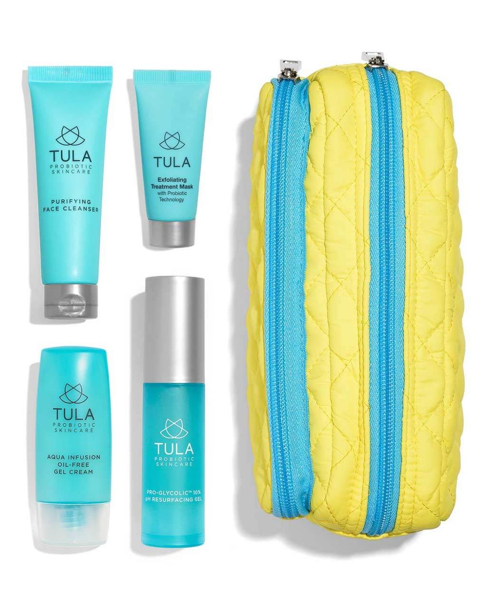 Aqua Infusion Oil Free Gel Cream Face Moisturizer Tula Skincare Tula Skincare Clear Complexion How To Grow Eyebrows