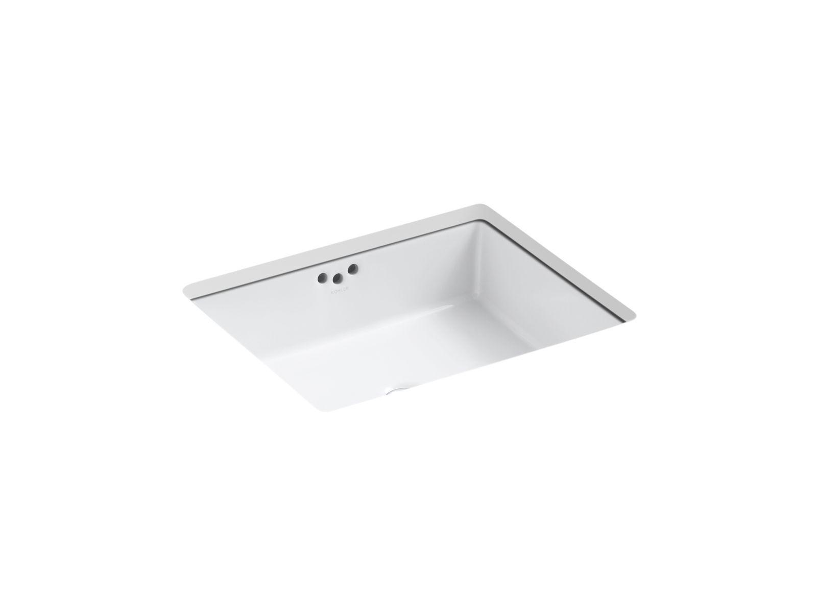 K 2330 G Kathryn Undermount 17 Inch Sink With Glazed Underside