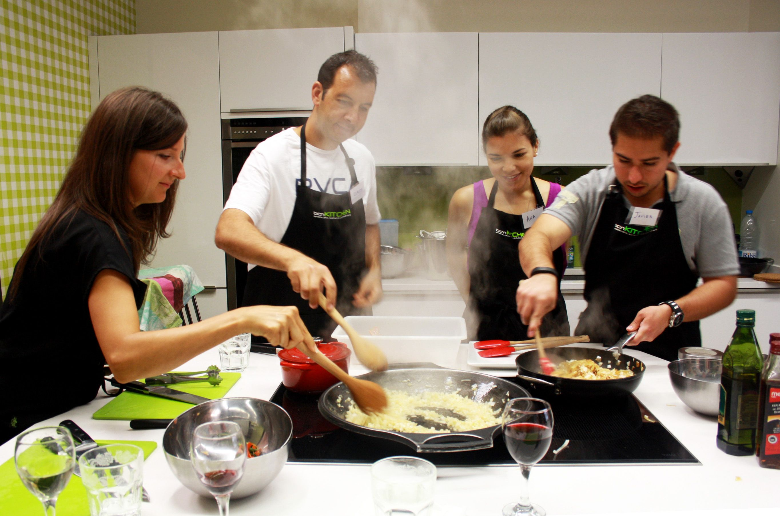 Gastronomic experience in bcnkitchencooking is one of