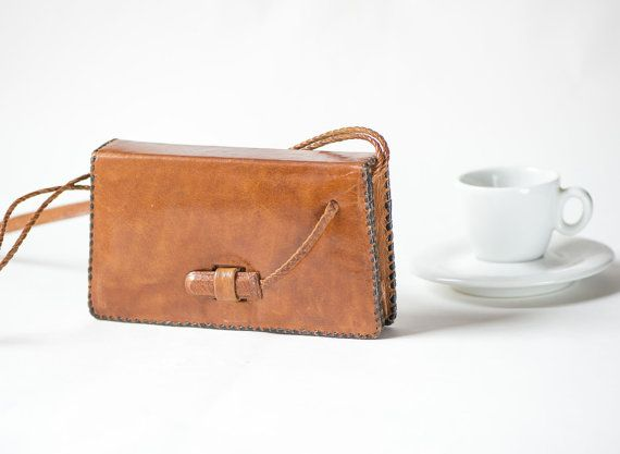 Soft Genuine Leather Shoulder Bag  Vintage Small Women's by 4Rooms