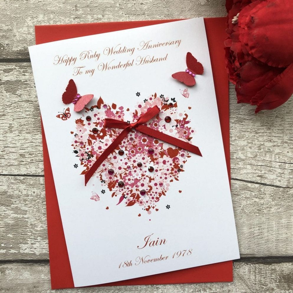 Marriage Anniversary Greeting Card Anniversary Card Greeting