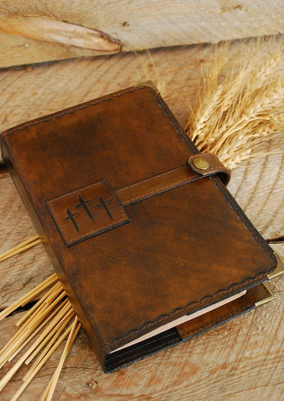 Made to order leather Bible cover  Protect your Bible from