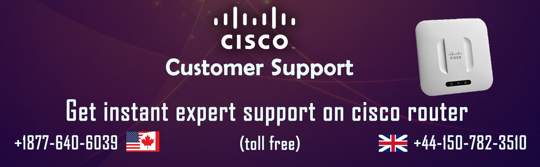 Get cisco router customer service through