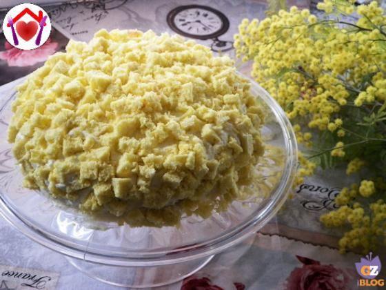 Torta mimosa  #ricette #food #recipes