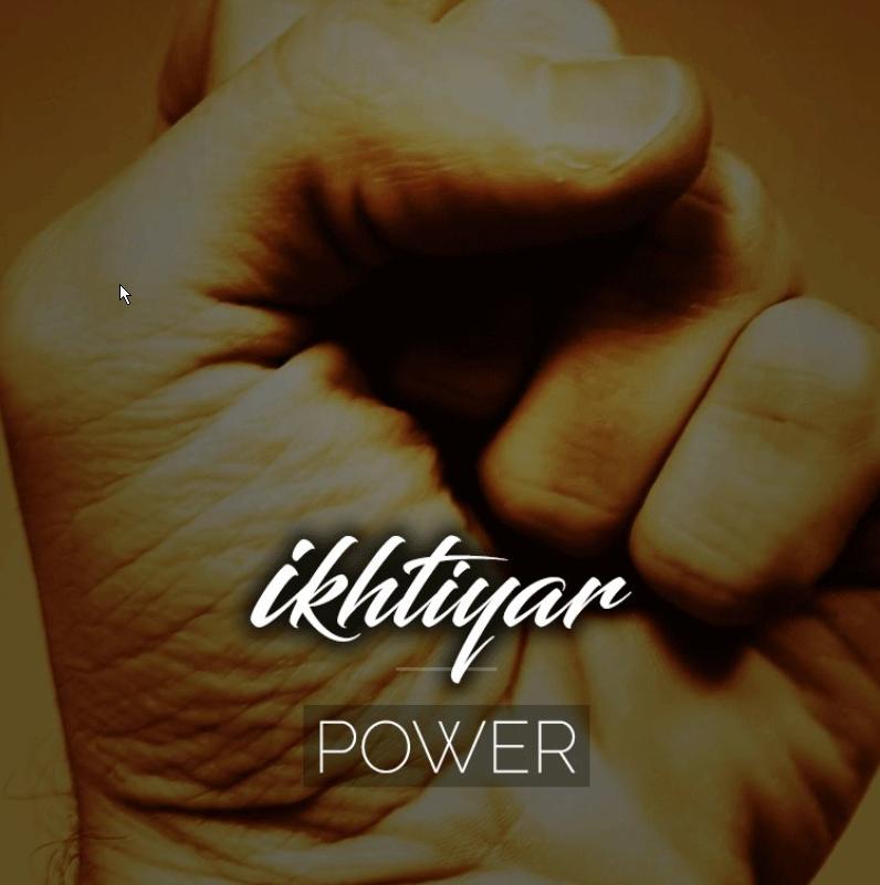 Ikhtiyar - Origin: Arabic Ikhtiyaar is an Urdu word, it