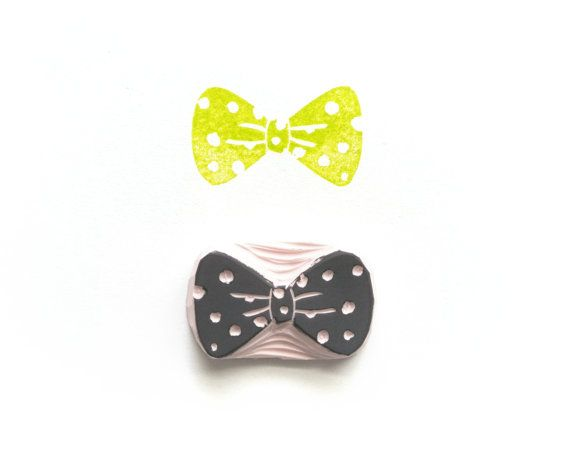 BowTie Rubber Stamp I by Tripolo