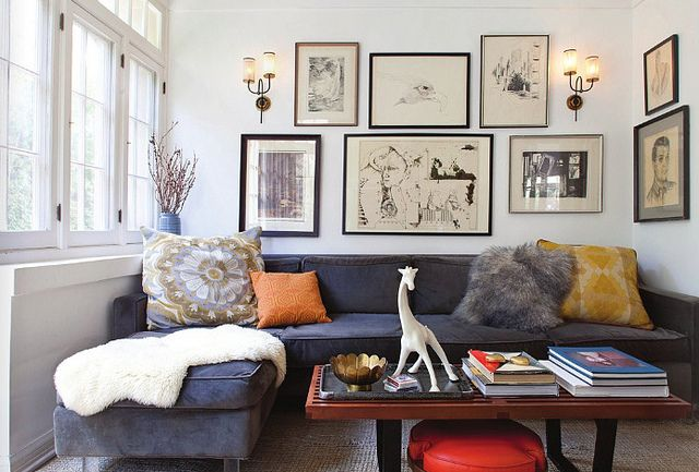 House Of Honey {eclectic Mid Century Vintage Modern Living Room} By Recent  Settlers