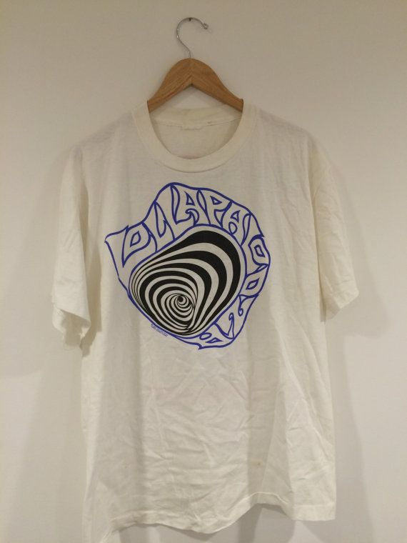 Vintage Lollapalooza 1992 Tour Rare 90s Concert Festival Tshirt gildan reprint