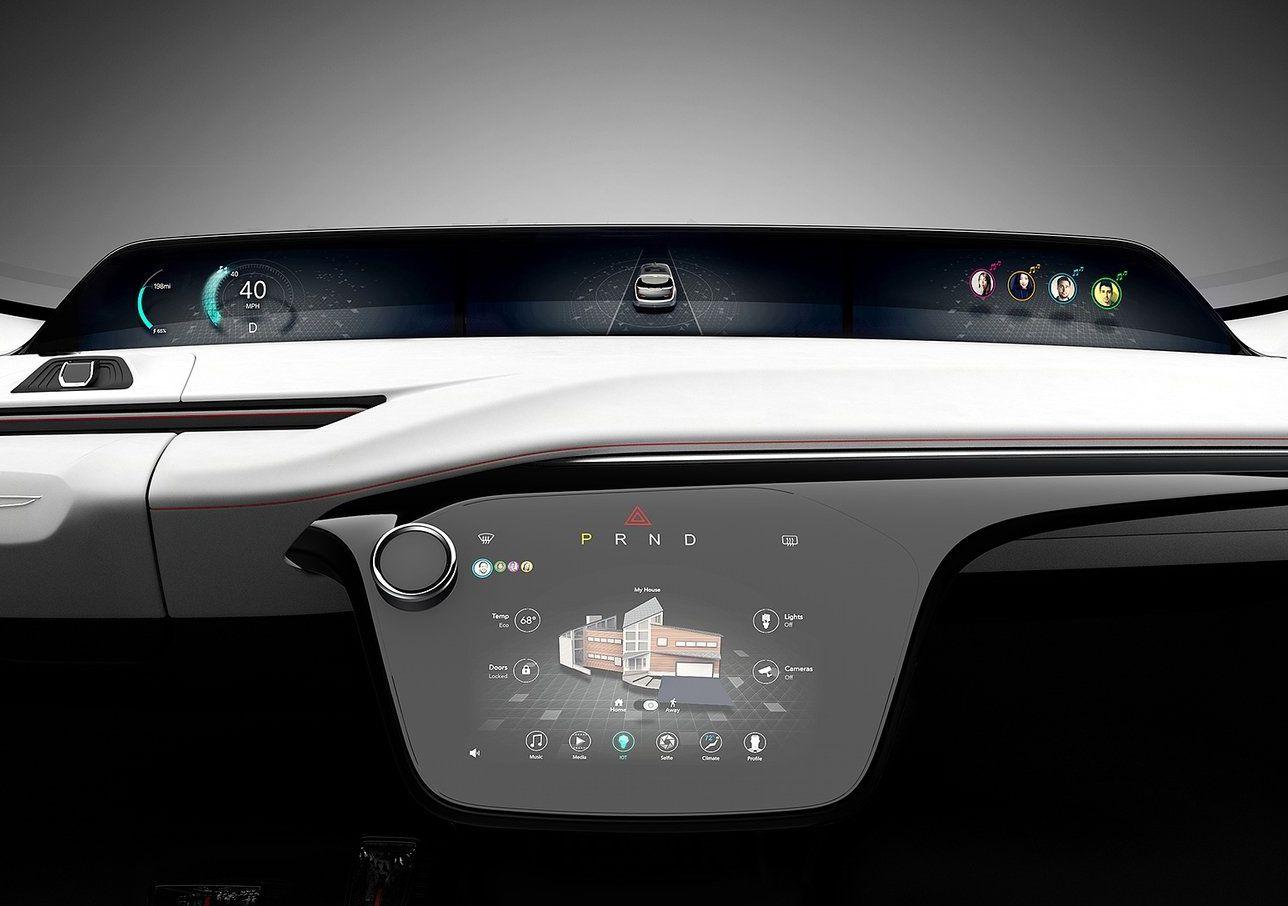 Chrysler Portal CES 2017 Cluster UI Automotive Meter Car