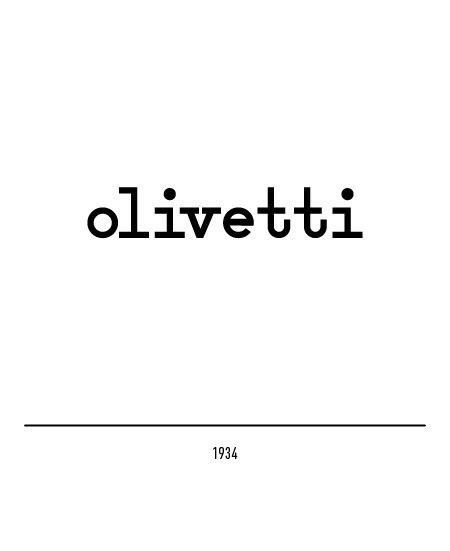 "OLIVETTI [Evolution Handmade Logotype 3] ""Visual"