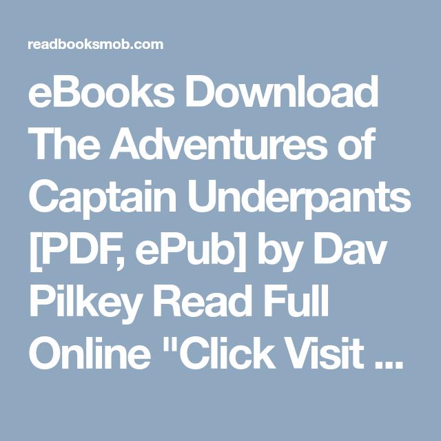 captain underpants download ebook