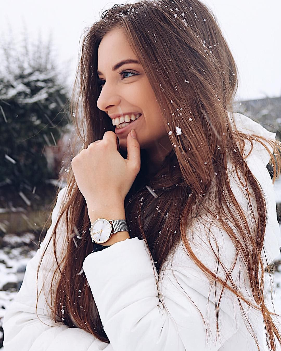 Wearing a watch in winter