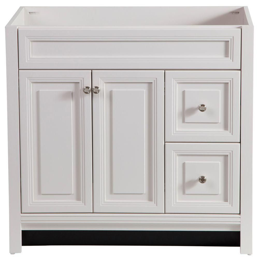 Home Decorators Collection Brinkhill In W Bath Vanity Cabinet - Bathroom vanity cabinets only for bathroom decor ideas