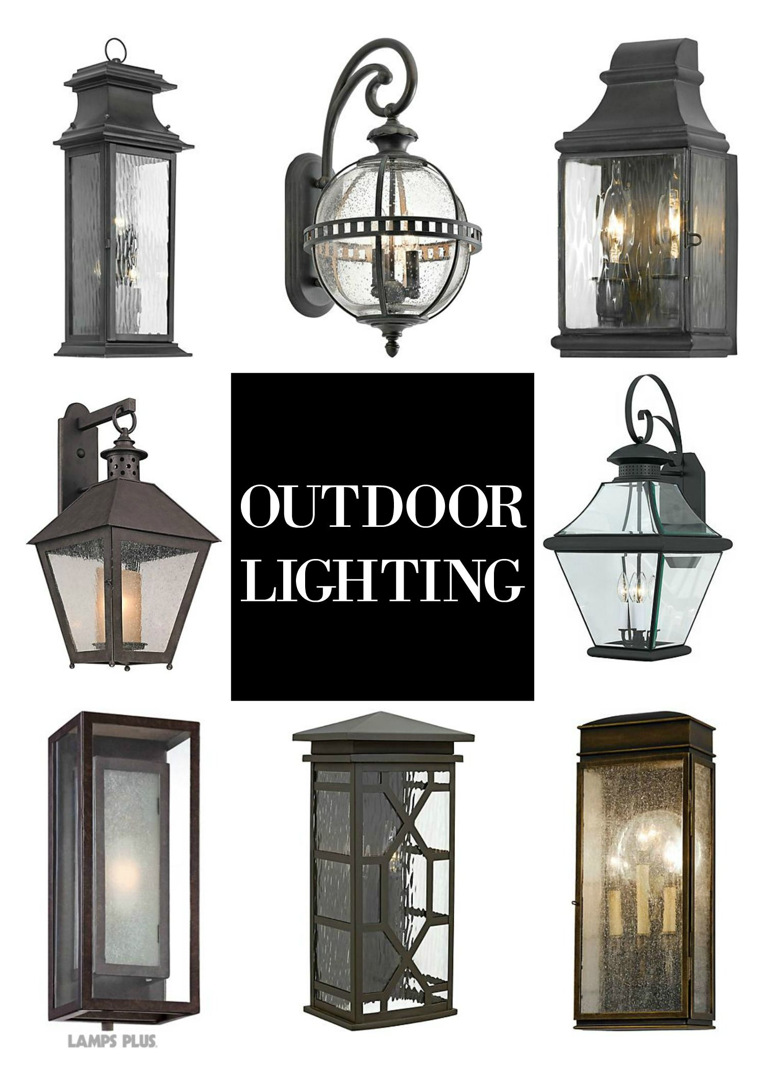 Outdoor Lighting Lantern Wall Sconces Perfect For A Front Entry To Your Backyard Par Exterior Light Fixtures Rustic Outdoor Lighting Outdoor Light Fixtures